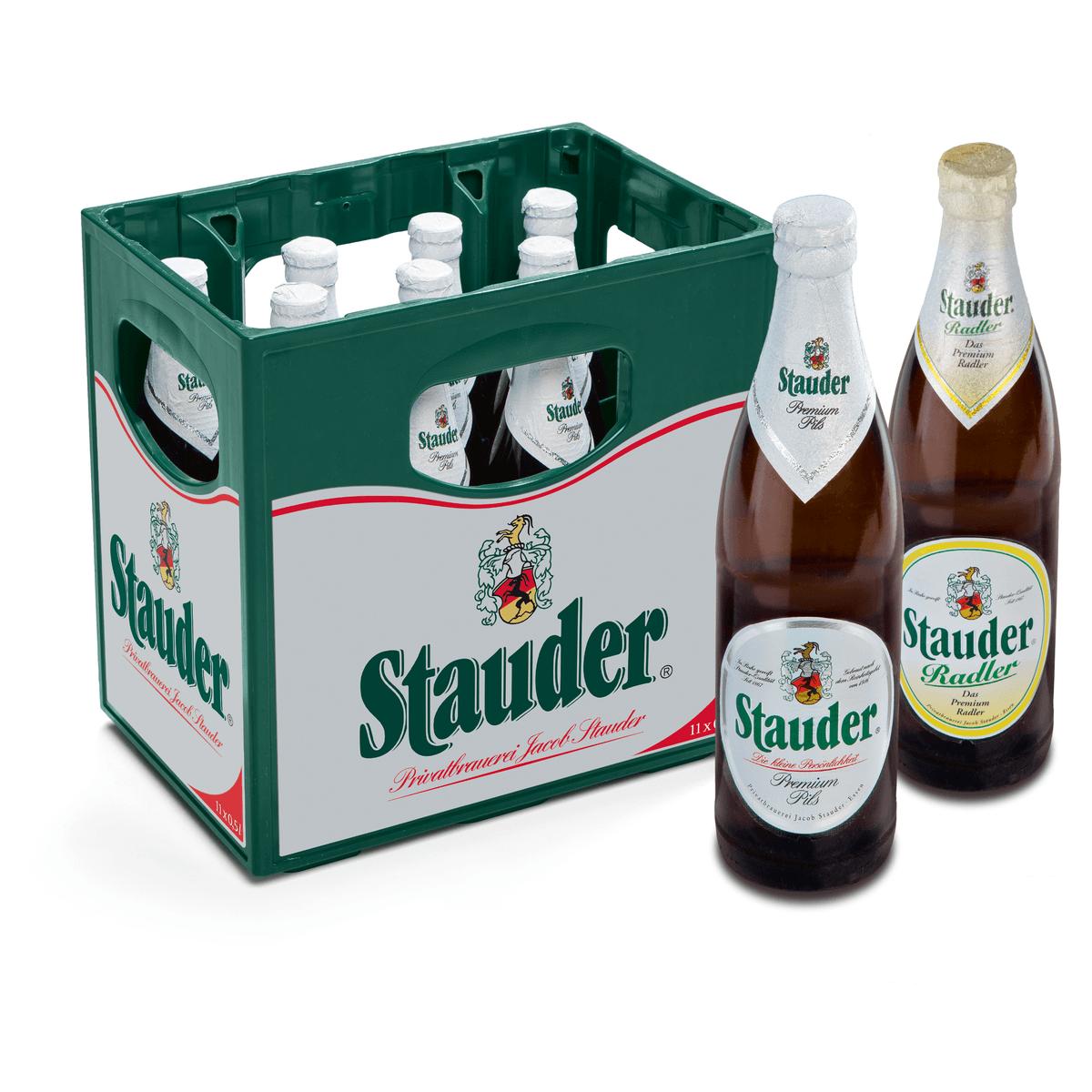Stauder Radler 11 x 0,5L | Biermixgetränke | Bier | Sortiment | Trinkgut