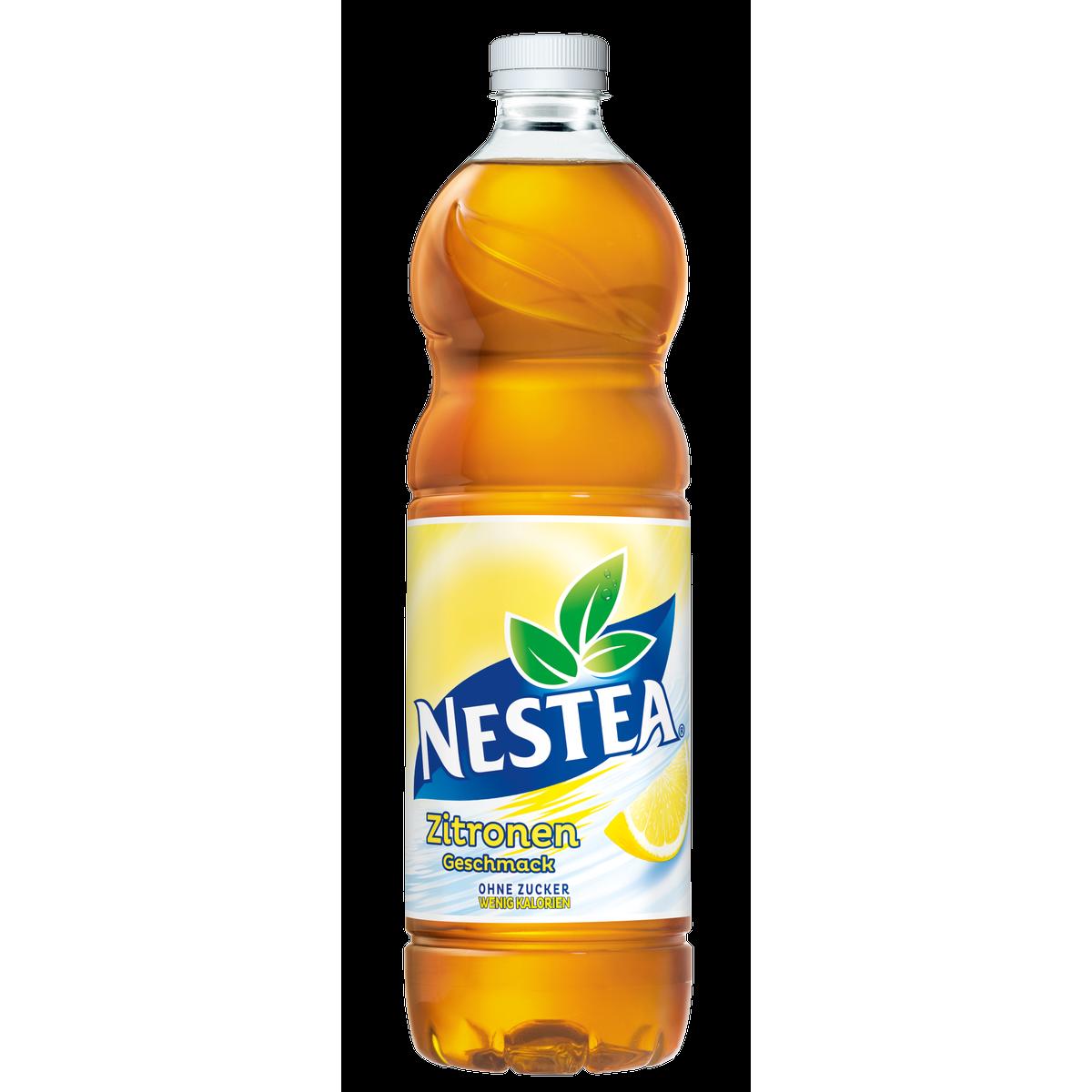 Nestea Zitrone ohne Zucker 1,5L | Eistee | Alkoholfreie Getränke ...