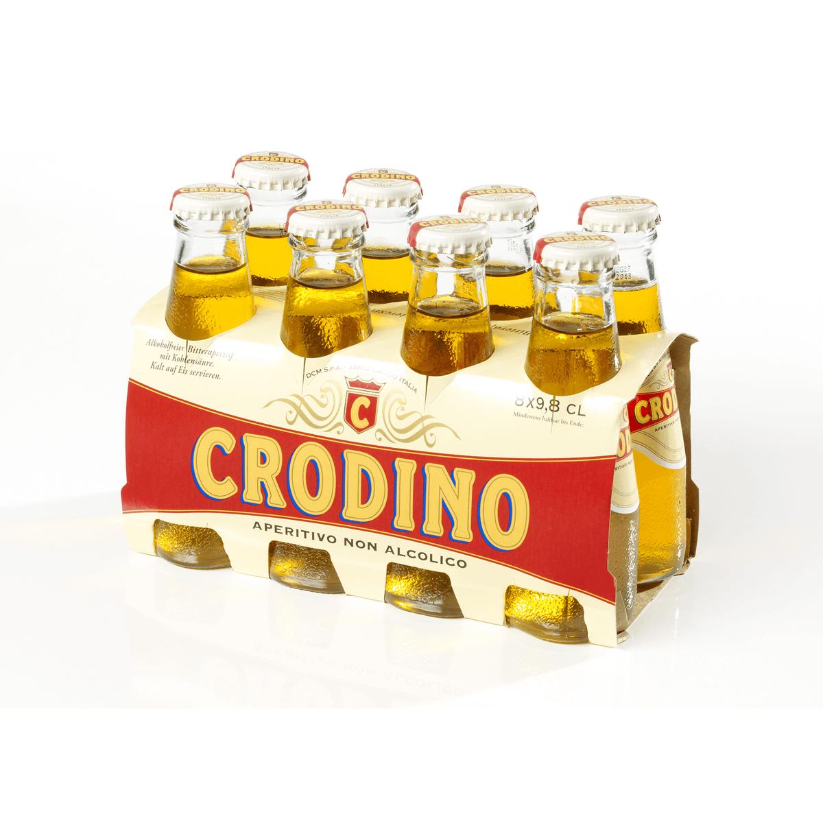 CRODINO 8x9,8cl   Cola, Limonaden & Co   Alkoholfreie Getränke ...