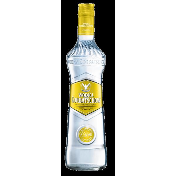 WODKA GORBATSCHOW Citron 37,5% 0,7L   Spirituosen Mixgetränke ...