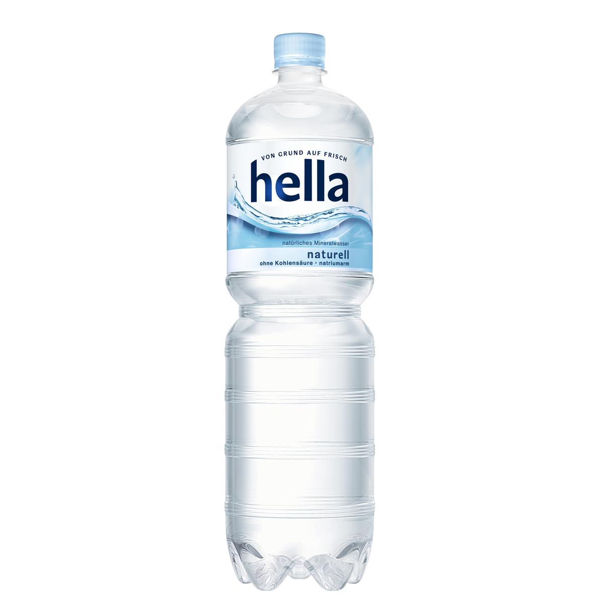 hella Naturell 1,5l | Wasser | Alkoholfreie Getränke | Sortiment ...