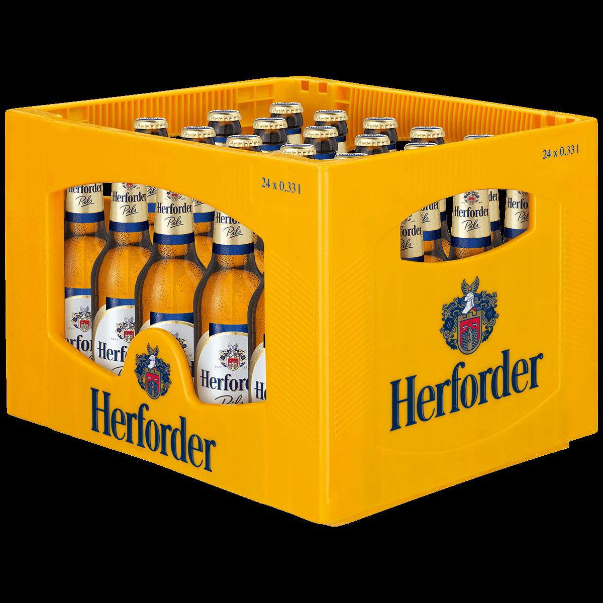 Herforder Pils 24 x 0,33L   Pils   Bier   Sortiment   Trinkgut