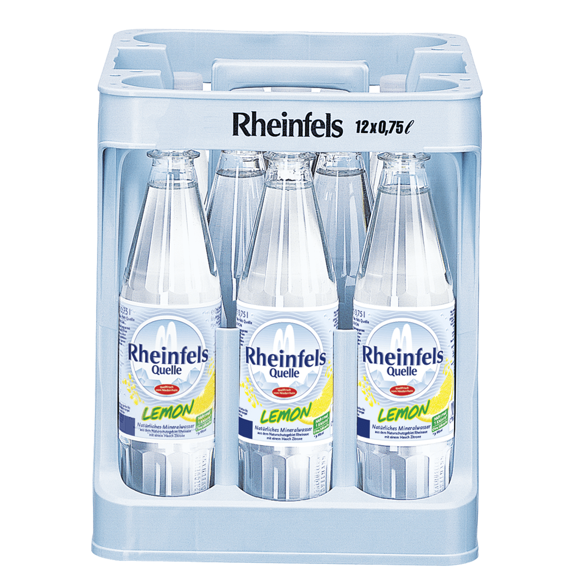 Rheinfels Quelle Lemon 12 x 0,75L   Wasser   Alkoholfreie Getränke ...