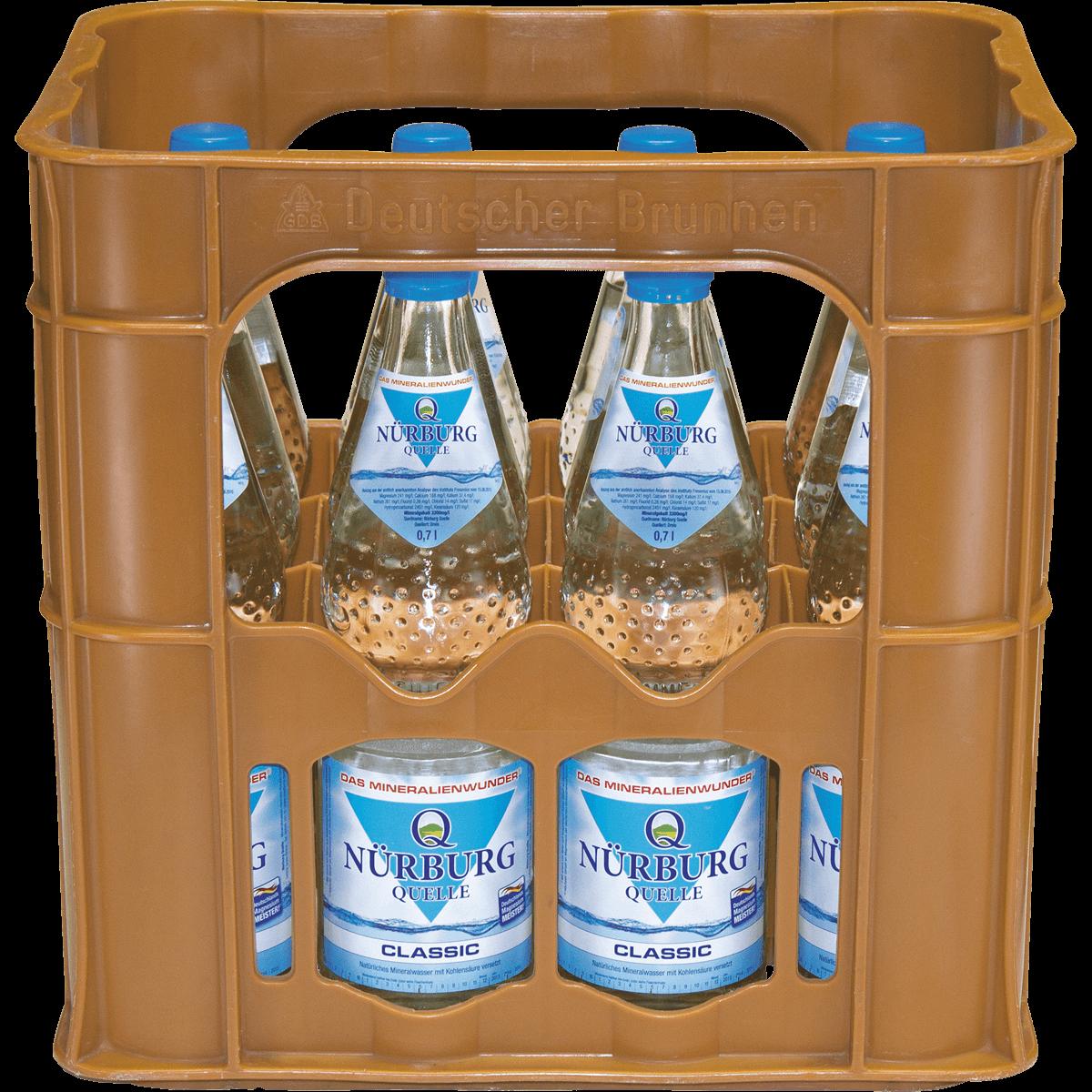 Nürburg Quelle Classic 12 x 0,7L | Wasser | Alkoholfreie Getränke ...