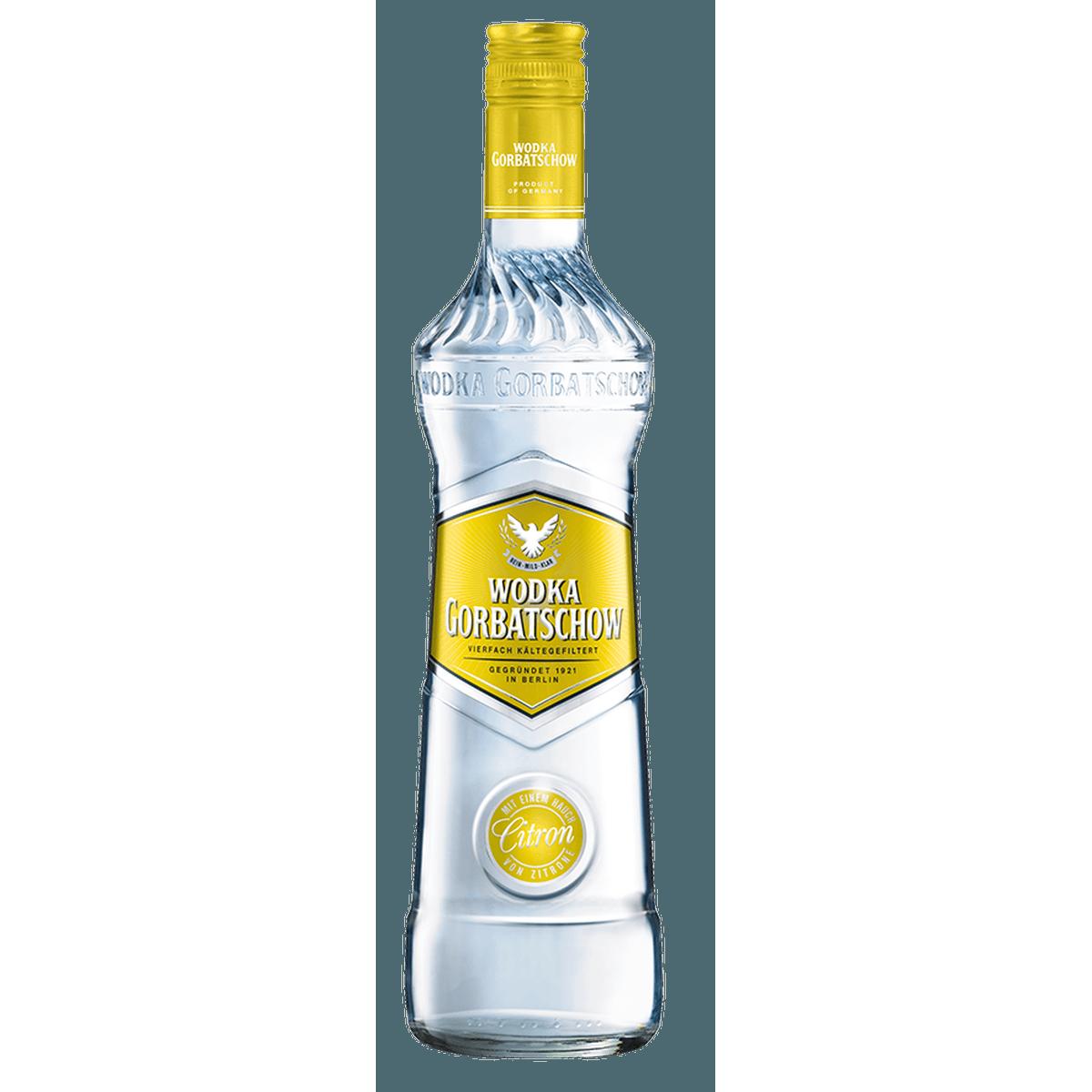 WODKA GORBATSCHOW Citron 37,5% 0,7L | Spirituosen Mixgetränke ...