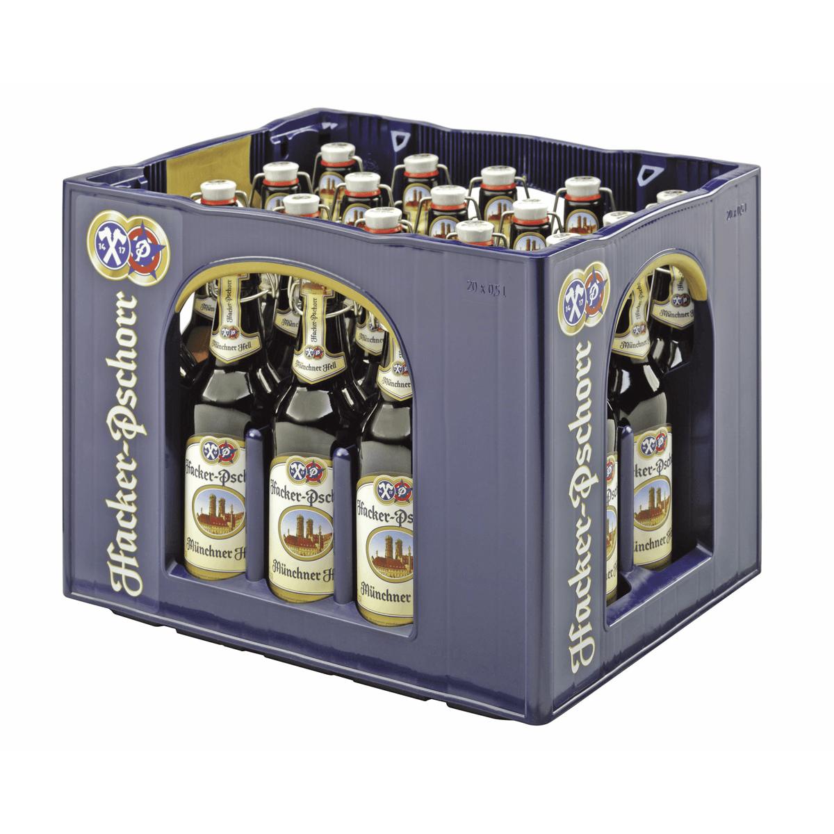 Hacker-Pschorr Münchner Hell 20 x 0,5L   Hell   Bier   Sortiment ...