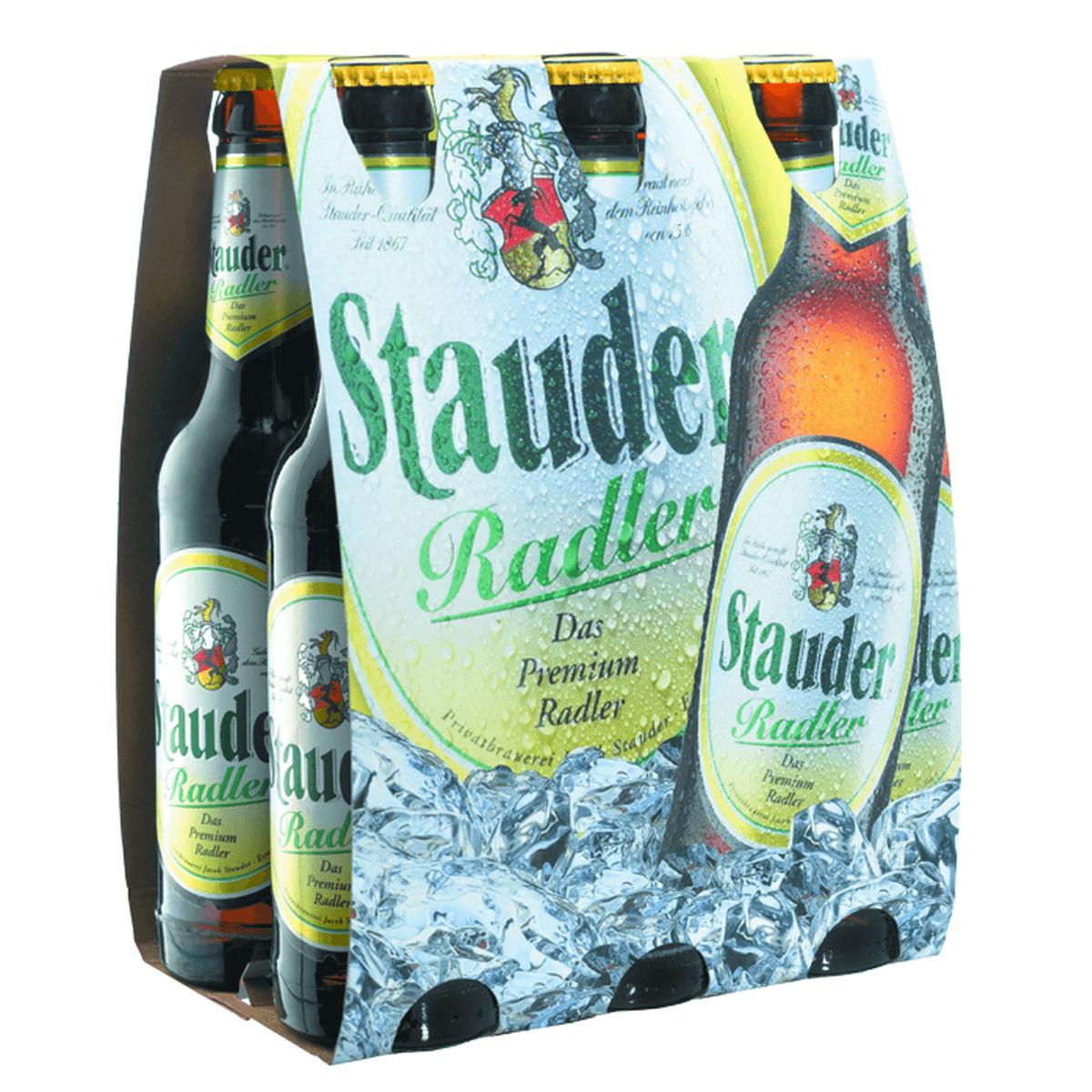 Stauder Radler 6 x 0,33L | Biermixgetränke | Bier | Sortiment | Trinkgut