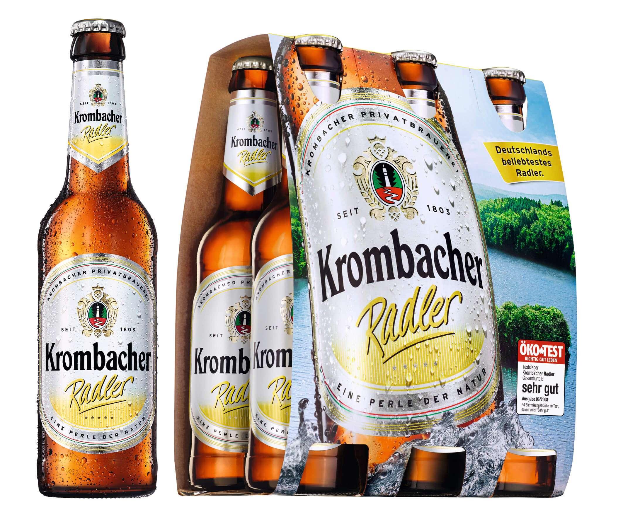 Krombacher Radler 6 x 0,33L | Biermixgetränke | Bier | Sortiment ...