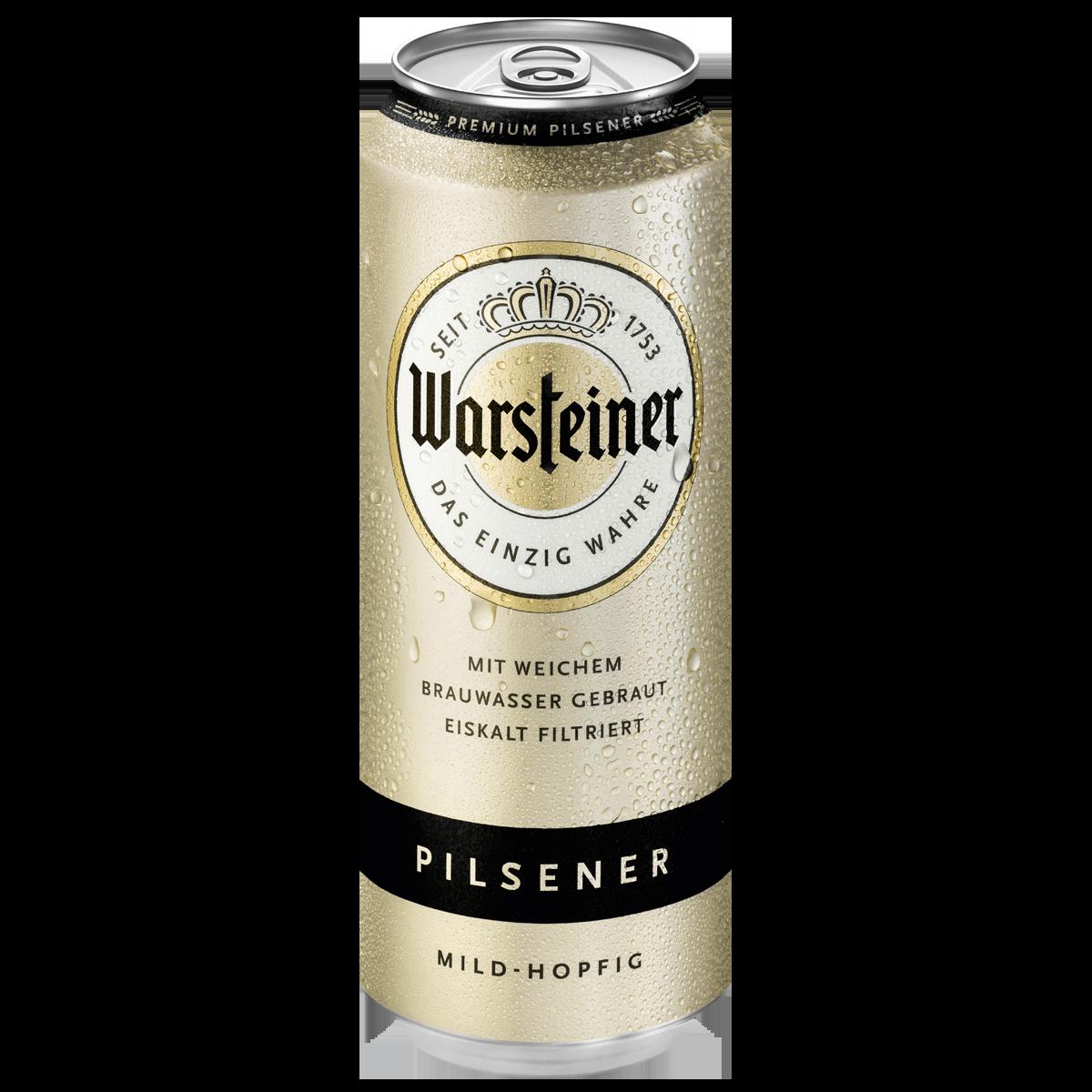 Warsteiner Premium Pilsener 05l Pils Bier Sortiment